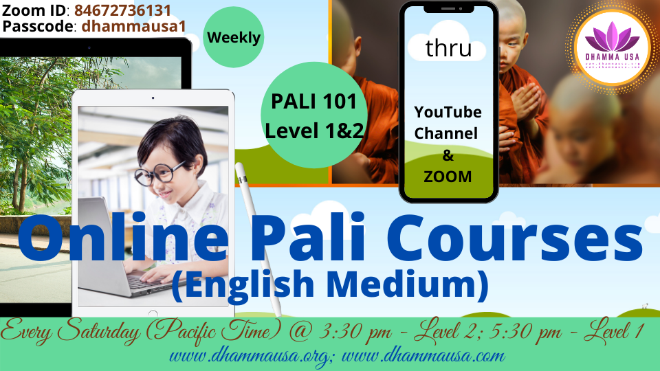 PALI101-Level 1& 2 - English Medium