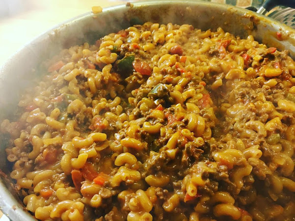 Bonfire night chilli mac