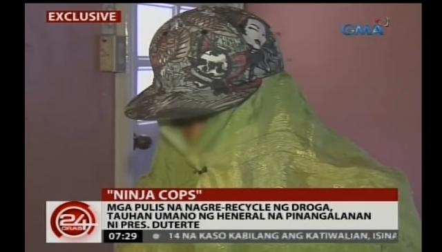 Drug trafficker discloses illegal drug activities by 'ninja PNP cops'