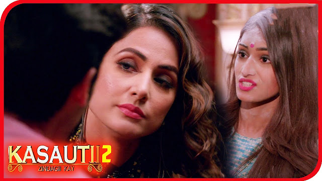 EXPOSED :  Anurag exposed Komolika ferocious to kill Prerna in Kasauti Zindagi Ki 2