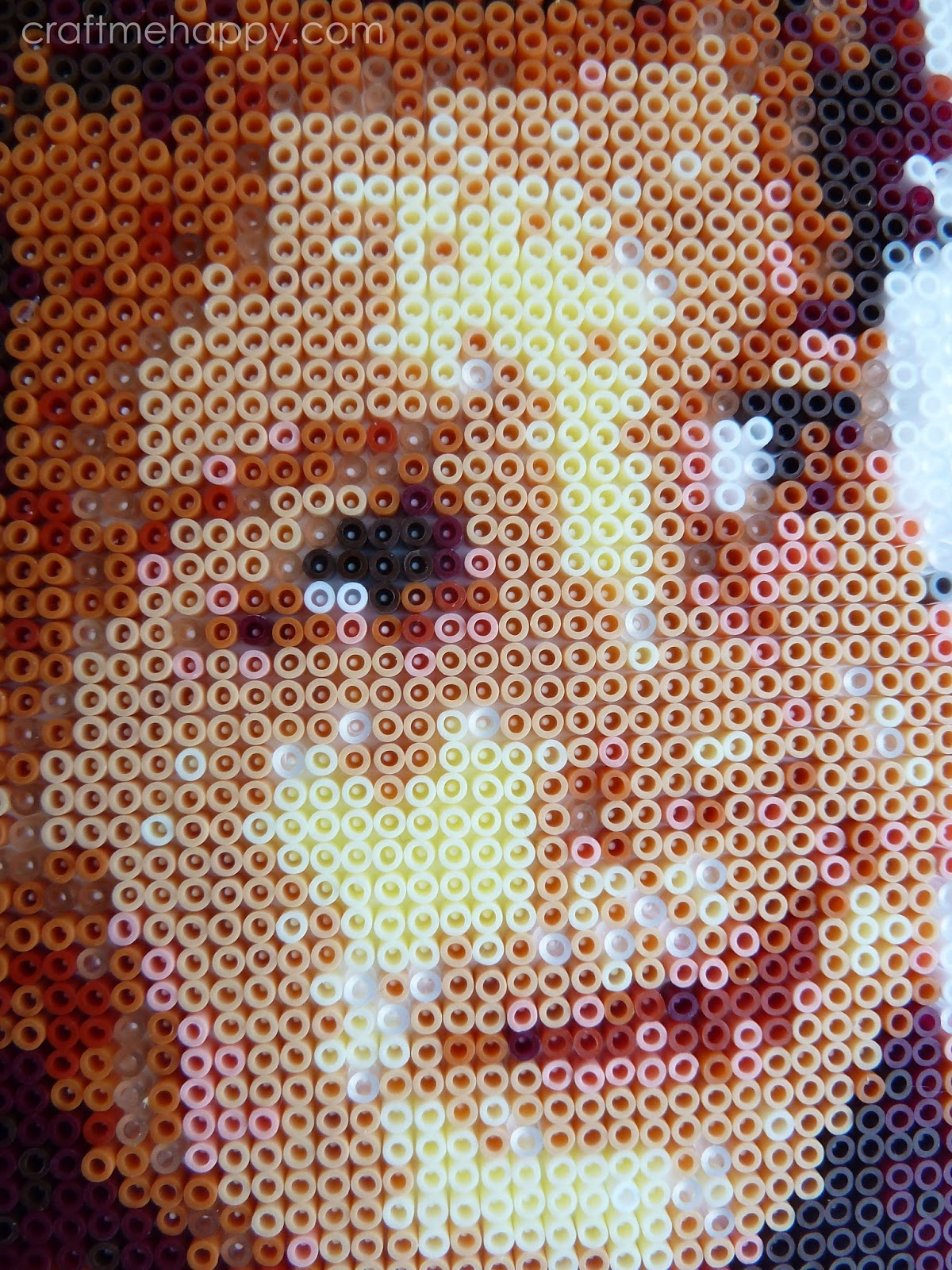How To Create Your Own Hama Bead Portrait Craft Me Happy