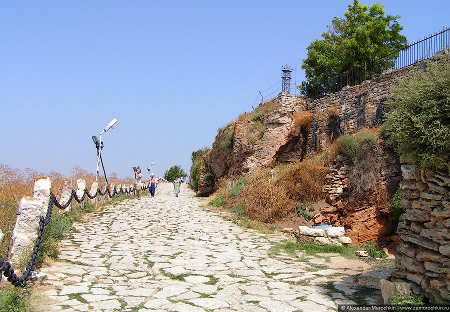 Пешеходная дорожка на мысе Калиакра