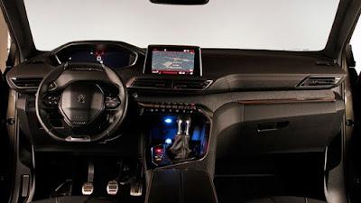 Peugeot 3008 2017 Especificações e detalhes interior