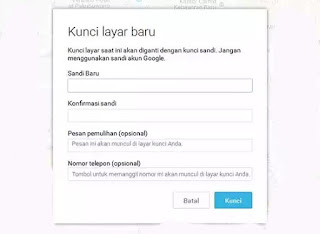 Gunakan android device manager