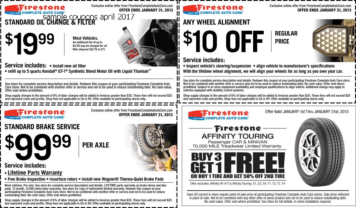 Oil depot coupons
