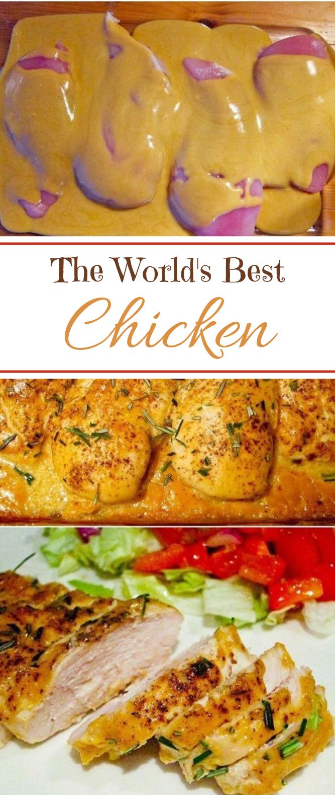 The World's Best Chicken #bestrecipe #dinner