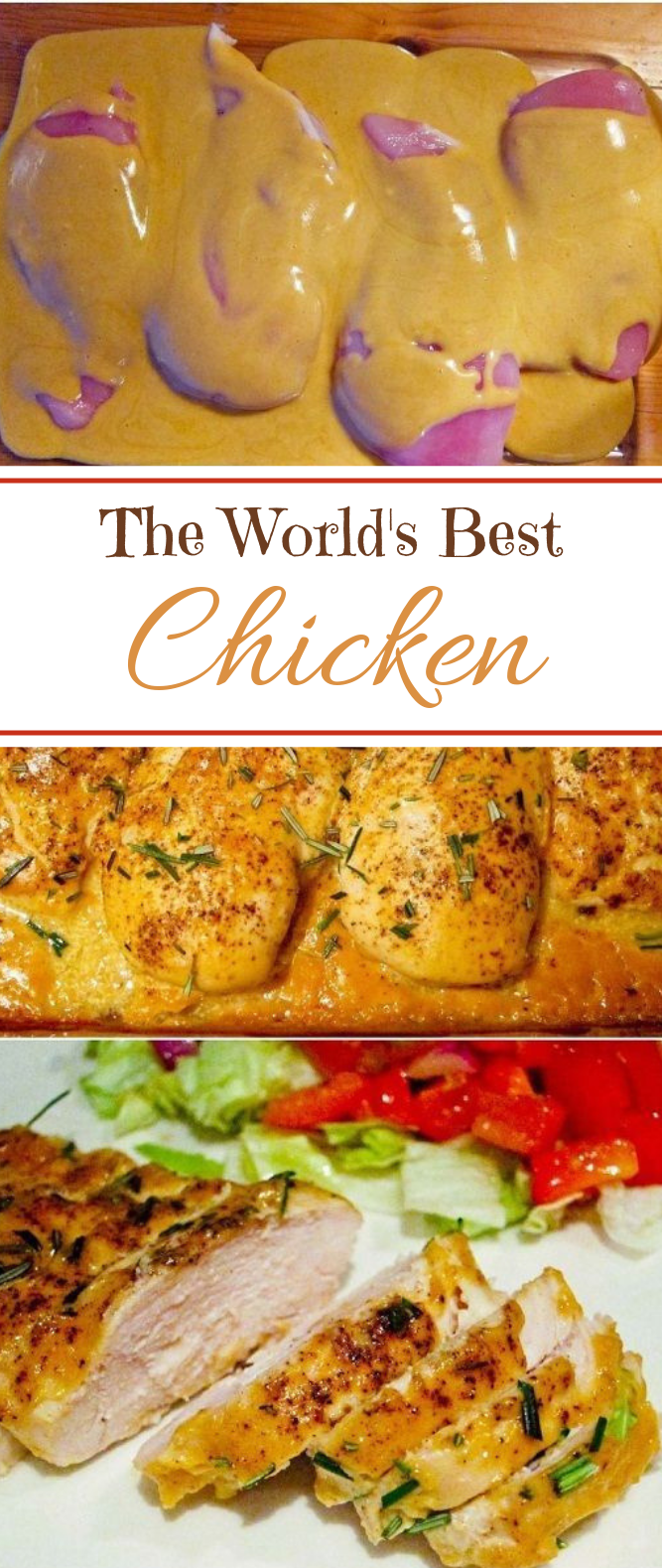 The World's Best Chicken #recipes #dinner