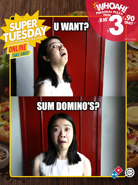 Domino's Pizza Malaysia Super Tuesday Deal Discount Promo