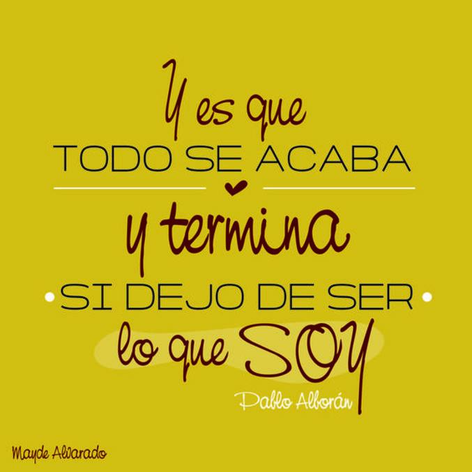 Frases De Pablo Alboran