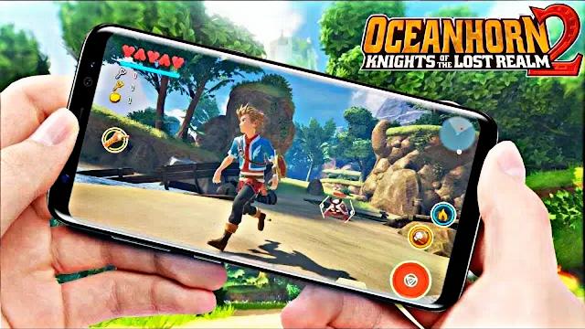وأخيرا لعبة Oceanhorn 2 المنتظرة لهذه السنة 2018 للأندرويد والأيفون
