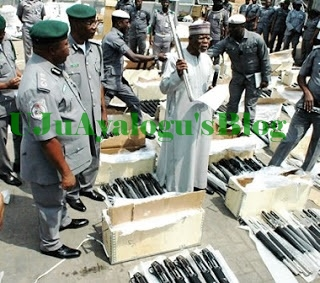 EXPOSED: Owner Of Imported 1570 Riffles Seized In Lagos By Customs as Another 470 Seized