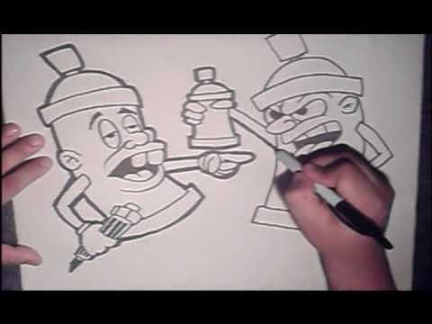 graffiti cartoon