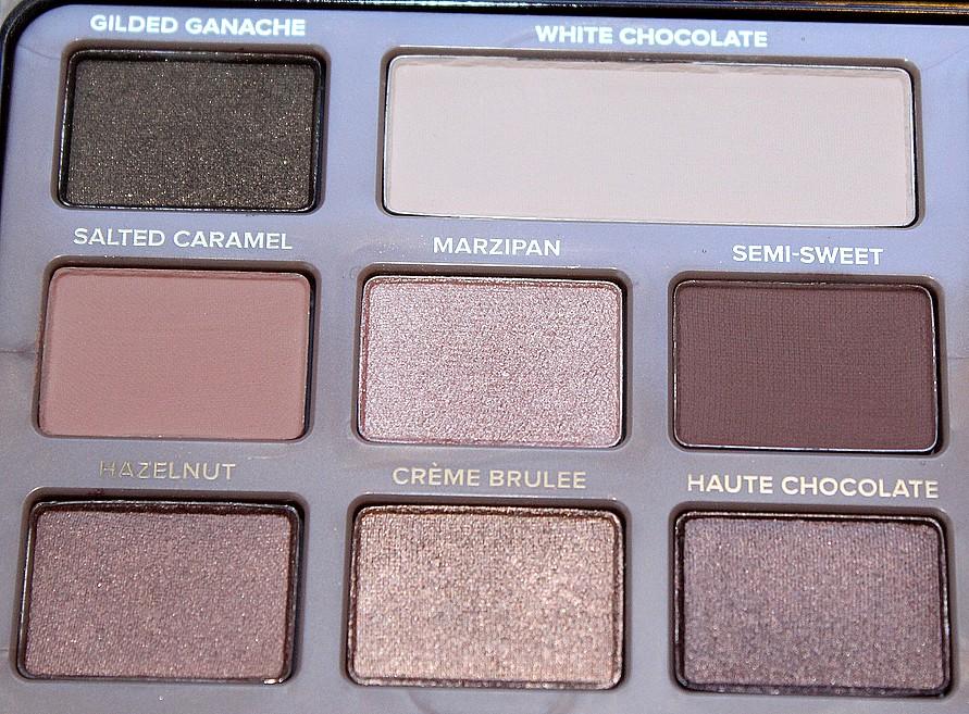 palette chocolate bar ombres à paupières