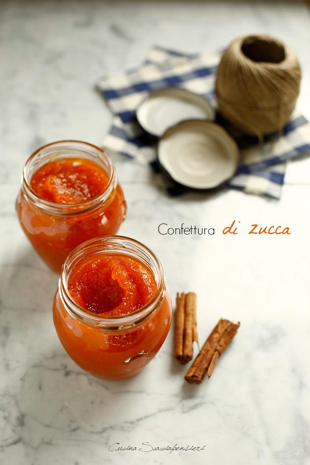 Confettura di zucca e cannella  Cucina Scacciapensieri