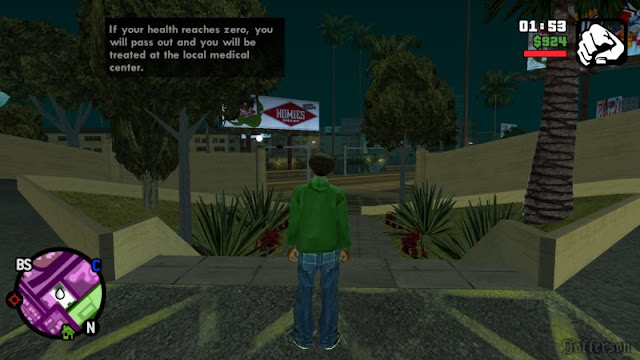 Change Map Position to GTA SA PC Mod version v4 appmarsh.com best mod