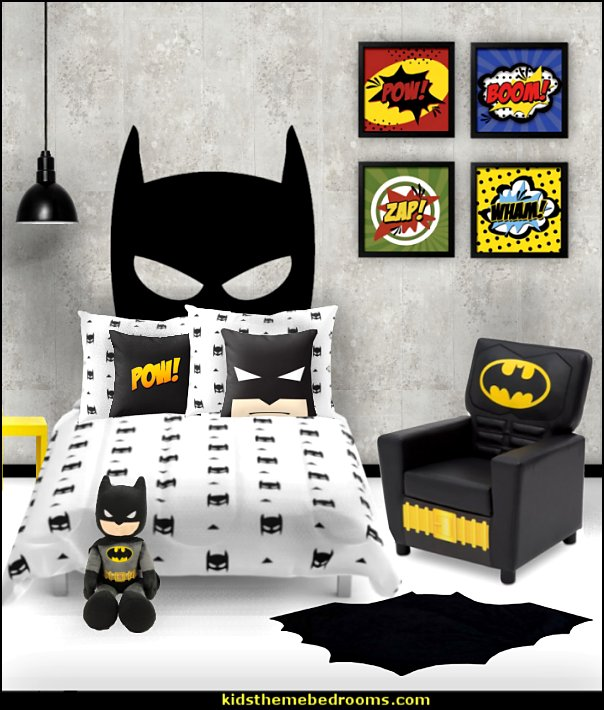 batman bedroom batman room decor  batman bedrooms - batman bedroom decorating ideas -  batman furniture - batman murals - batman wall decals - batman bedding - batmobile bed - Batman room decor - batman pajamas -  batcave DC Comics Batman -  batman comics themed bedrooms -  Batman vs Superman Bedrooms - Superhero bedroom ideas -