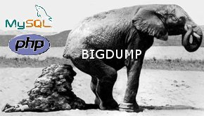 Hack MySQL with BigDump