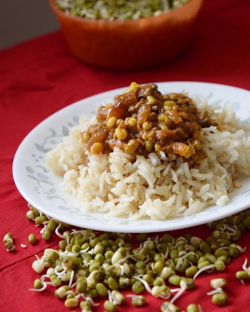 sprouts kuzhambu