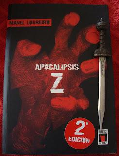 Portada del libro Apocalipsis Z, de Manel Loureiro