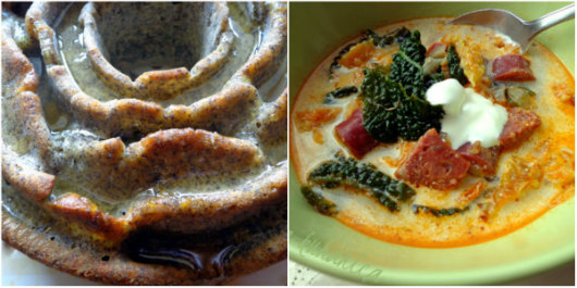 Tuscan soup - Zuppa Toscana and Lemon and poppy seed cake by Laka kuharica: two wonderful recipes are borrowed from another blog.