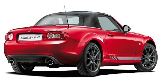 Roadster Blog: MX-5 Roadster NC Rear Styling