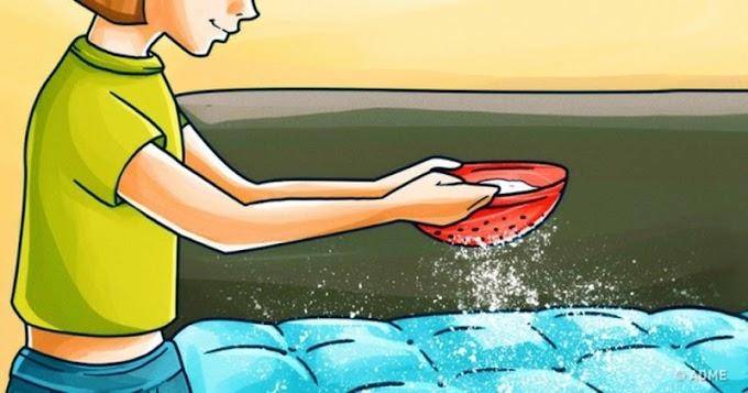 Derrama bicarbonato de sodio sobre tu colchón una vez por mes, te sorprenderá lo que sucede