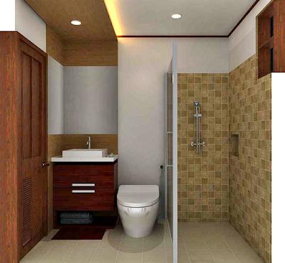 Desain Kamar Mandi Minimalis Modern Untuk Rumah Sederhana Terlihat Lebih Rapi dan Bersih