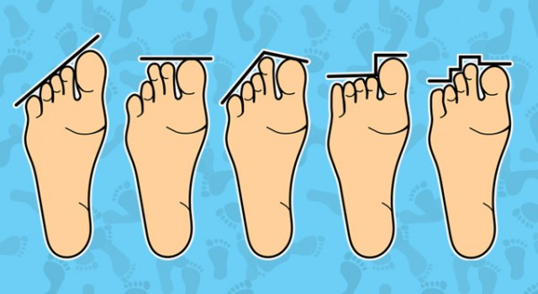 what length toes says personality