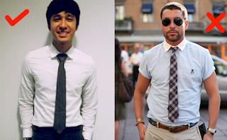 Kesalahan Pria Dalam Berpakaian