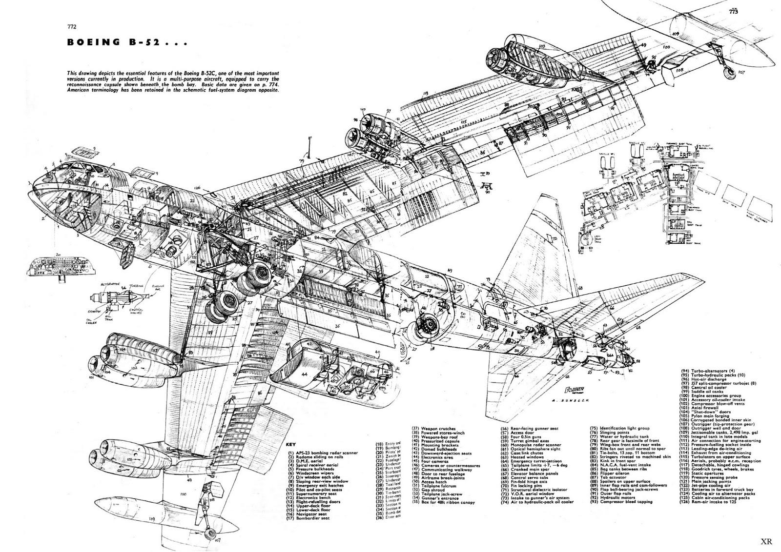 Atomic Annihilation B 52 Cutaway