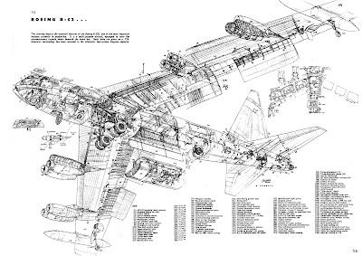 ATOMIC-ANNIHILATION: 1957 B-52 cutaway!