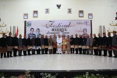 Pemkab Lampung Timur Gelar Festival Mighul 2018