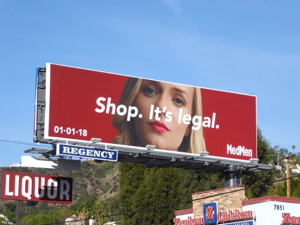 MedMen Shop Its legal billboard