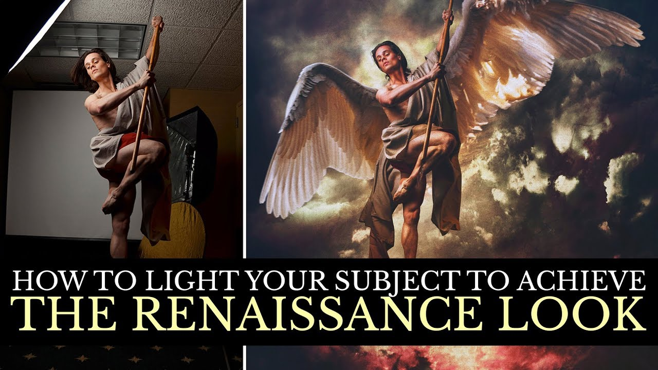 How To light your Subject to achieve the Renaissance Look