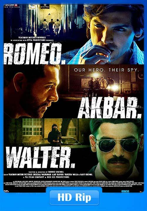 Romeo Akbar Walter 2019 720p NF WEB-DL x264   480p 300MB   100MB HEVC Poster