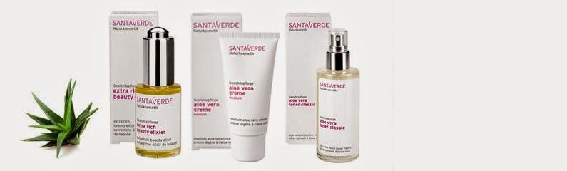 cosmética natural con aloe vera Santaverde