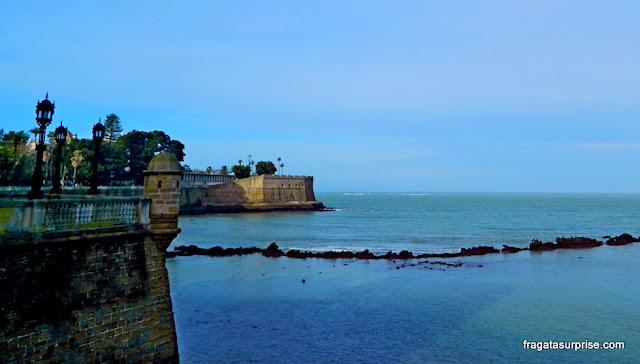 Fortaleza de la Candelaria, Cádiz, Andaluzia