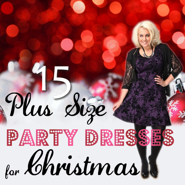 Plus Size Party Dresses for Christmas