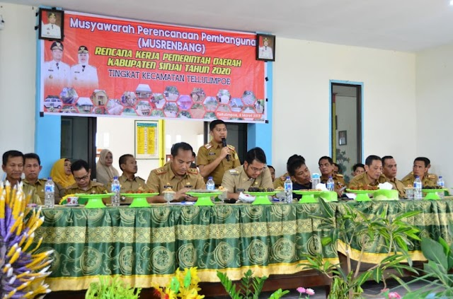 Musyawarah Perencanaan Pembangunan (Musrenbang) Dilakukan Ditingkat Kecamatan Tellulimpoe
