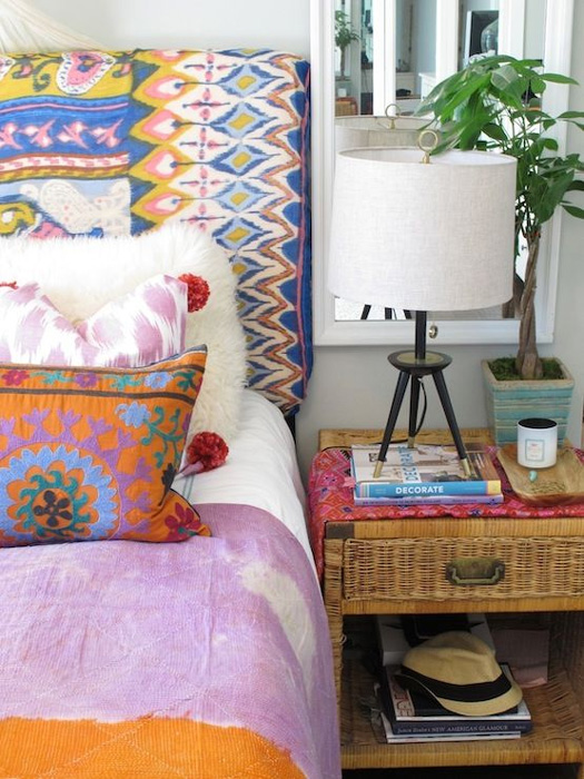 Eclectic Bedroom Designs That Will Give You Creative Ideas: Belle Maison: Dressing The Bed