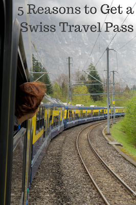 Travel the World: The easiest way to get around Switzerland is by train. The Swiss Travel Pass covers all train travel in Switzerland plus buses, boats, and more, plus provides free admission to over 500 museums.