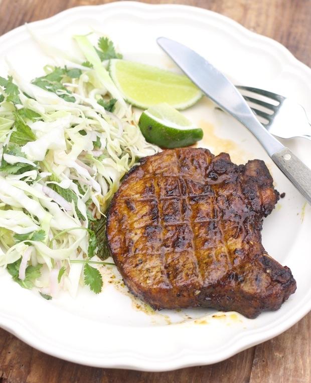 Vietnamese Grilled Pork Chop recipe by SeasonWithSpice.com