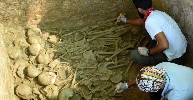 Mass burial found at ancient Parion