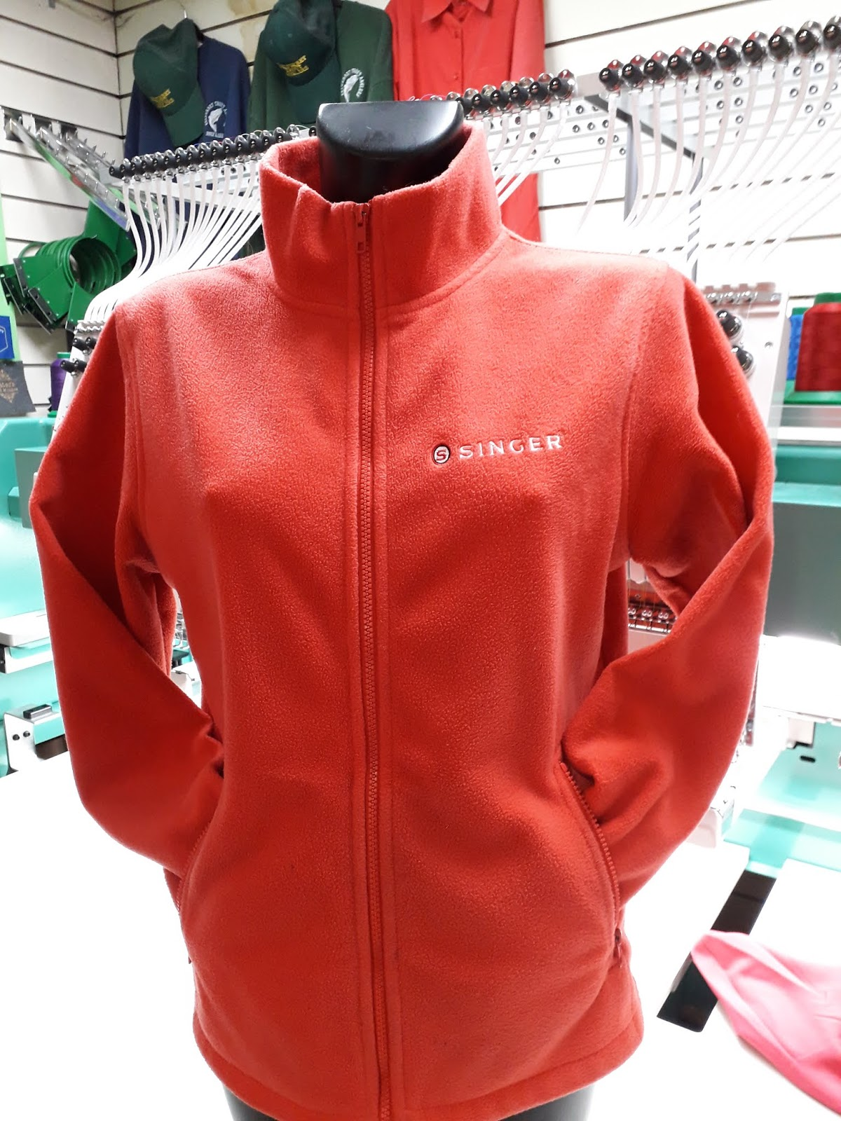 Personalised Fleece Jackets - Call us for a quote