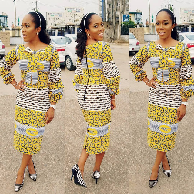 Super Stylish Ankara Gown Styles For You Ladies