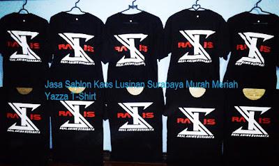 Jasa Sablon Kaos Manual Surabaya