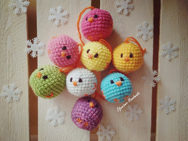 Christmas tree baubles - Ofuniowo Handmade