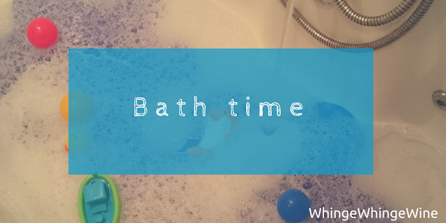 Bath time: Our nightly routine with a toddler and a baby. Jesus wept.