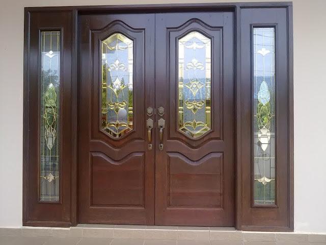 contoh pintu minimalis 2 daun pintu