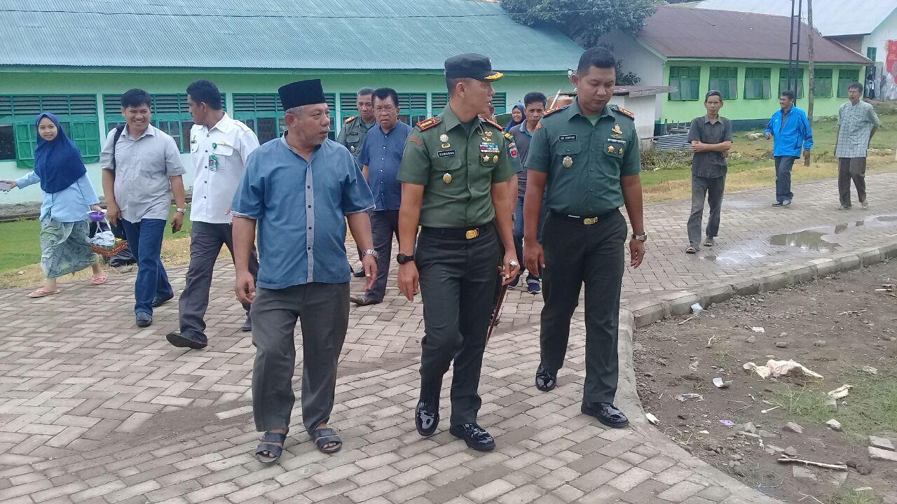 Setelah Pangdam XIV/Hsn, Danrem 141/Tp Tinjau DDI Mangkoso